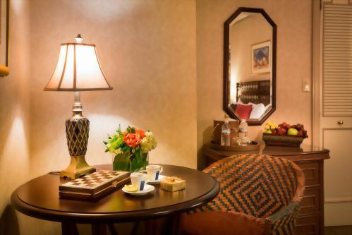 Our concierge team is happy to help you arrange a special amenity in your room, such as a colorful seasonal floral arrangement!