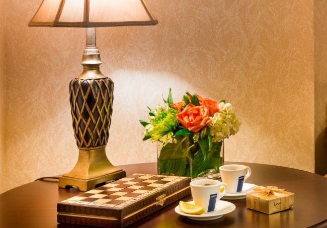 Have beautiful bouquet of seasonal flowers in your room upon arrival!