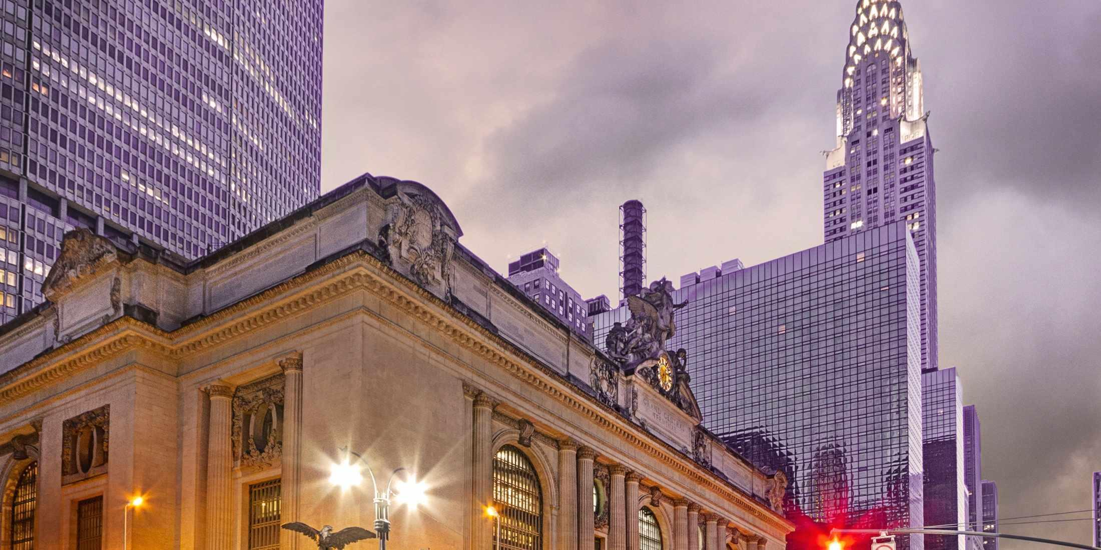 The historic Grand Central Station!