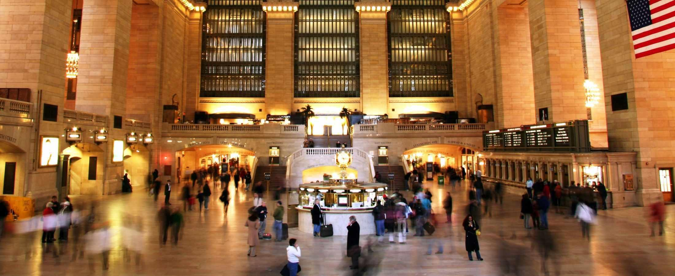 Center of Grand Central Station