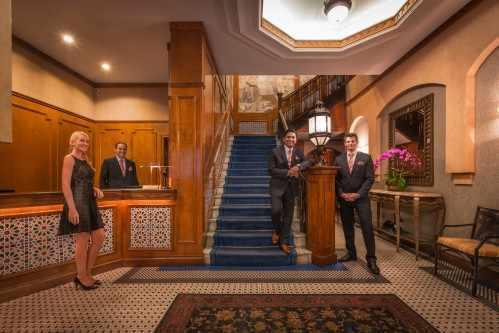 Welcome to the Casablanca Hotel by Library Hotel Collection, one of the top-ranked hotels in the USA based on guest satisfaction - #16 Best Hotel USA TripAdvisor Travelers Choice Awards 2019.