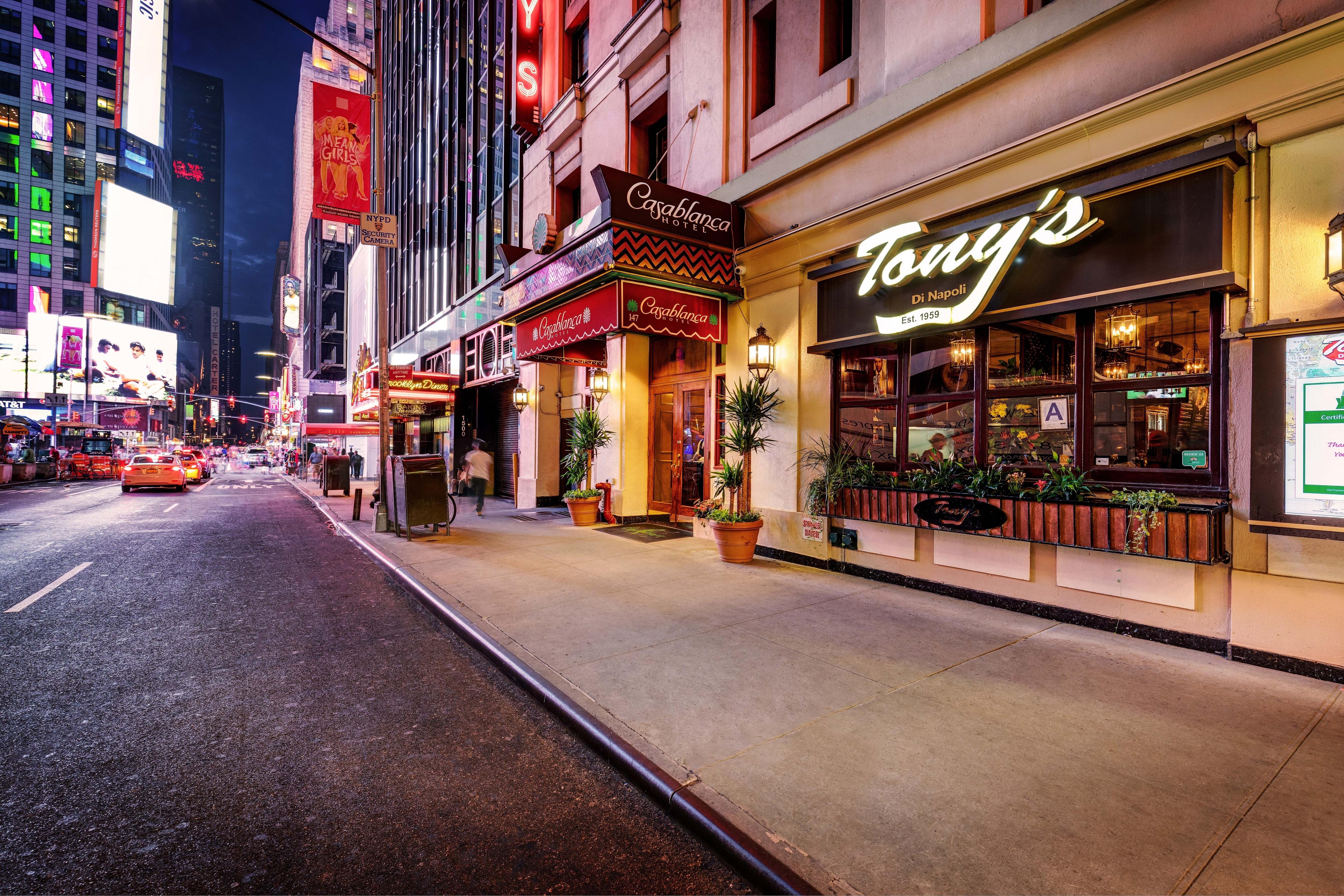 Casablanca Hotel New York City Restaurants Midtown Manhattan Dining